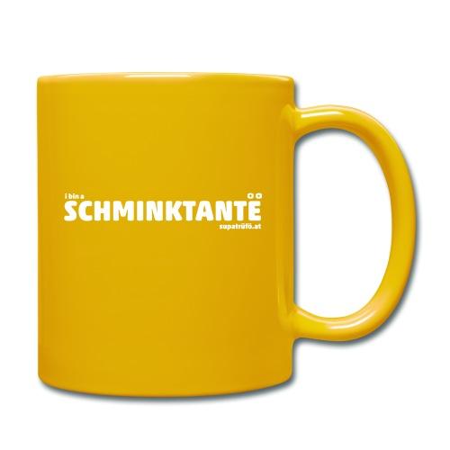 supatrüfö SCHMINKTANTE - Tasse einfarbig