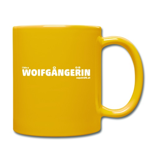 SUPATRÜFÖ WOIFGANGERIN - Tasse einfarbig