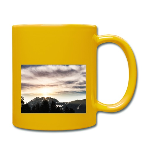 Gratlspitz - Tasse einfarbig