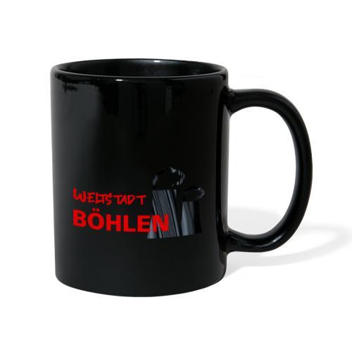 Weltstadt Böhlen - Tasse einfarbig