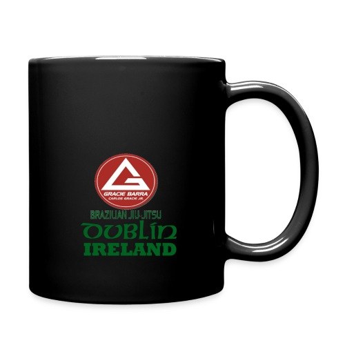 Gracie Barra Dublin Gaelic Celtic Font PNG - Full Colour Mug