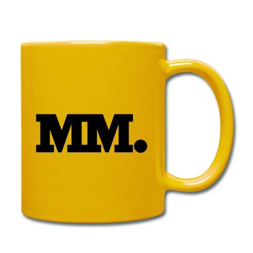 mm logo - Tasse einfarbig