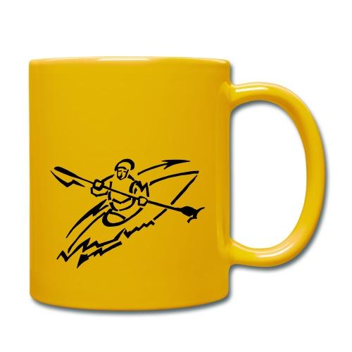 Kanu-AG-Logo - Tasse einfarbig
