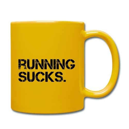Running Sucks - Tasse einfarbig