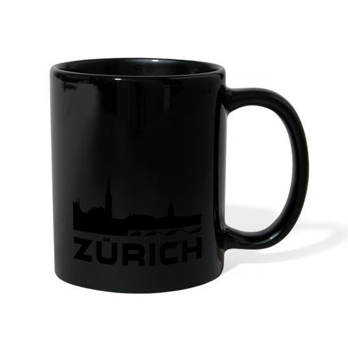 Zürich - Tasse einfarbig