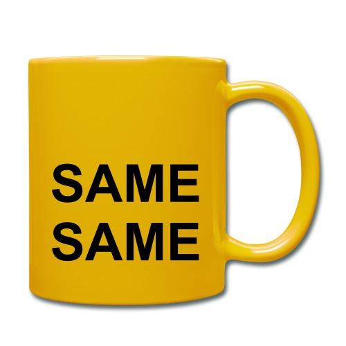 samefront - Tasse einfarbig