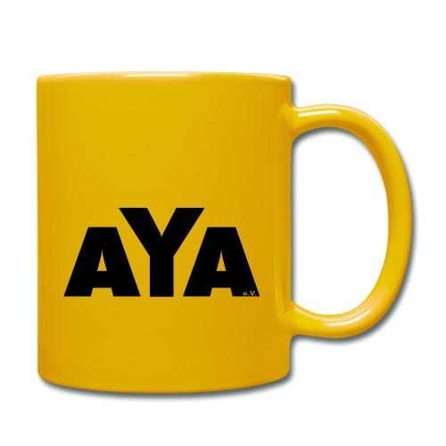 aya_ruecken - Tasse einfarbig