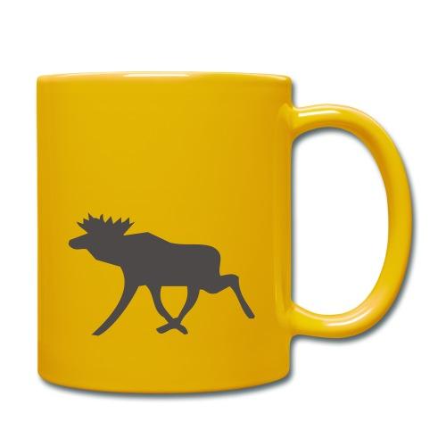 Schwedenelch; schwedisches Elch-Symbol (vektor) - Tasse einfarbig