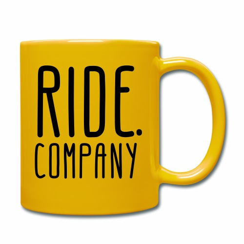 RIDE.company - just RIDE - Tasse einfarbig