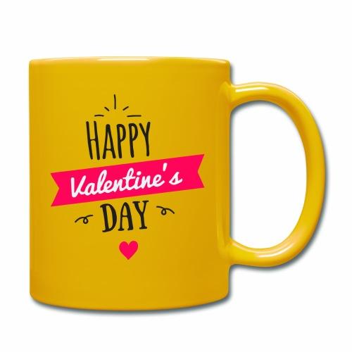 Feliz San Valentin - Taza de un color