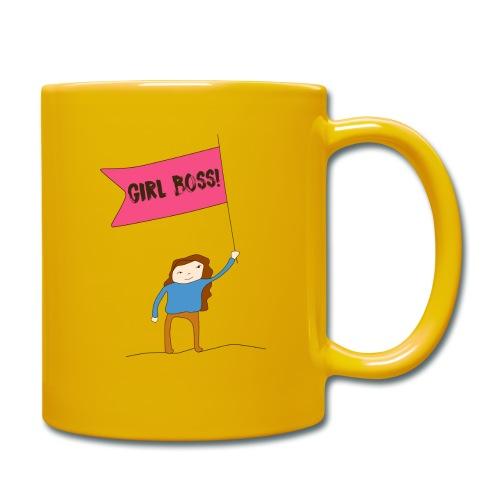 Gurl boss - Taza de un color