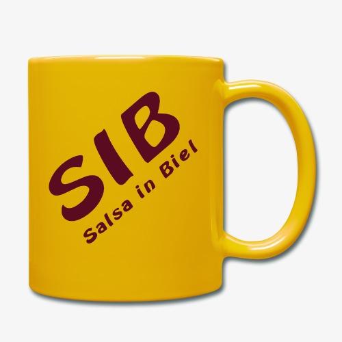 Tanzschule SIB / Salsa In Biel - Tasse einfarbig