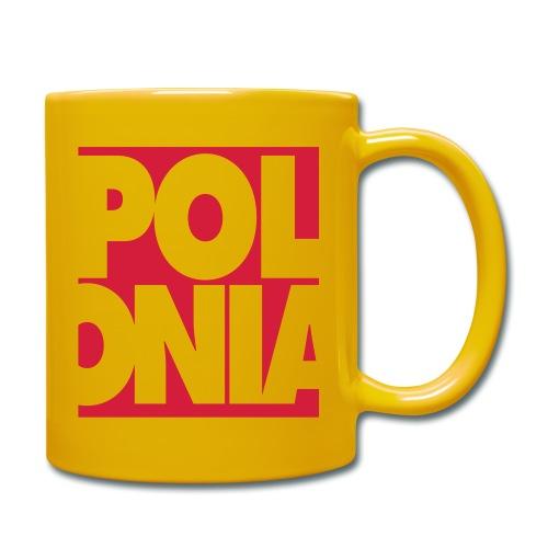 Polonia Schriftzug - Tasse einfarbig