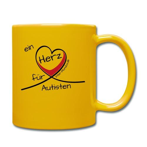 Ein Herz für Autisten - Tasse einfarbig
