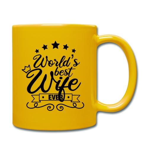 World's best wife ever / Meilleure épouse du monde - Mug uni