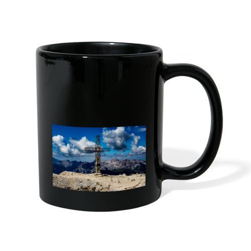 Gipfelkreuz - Tasse einfarbig