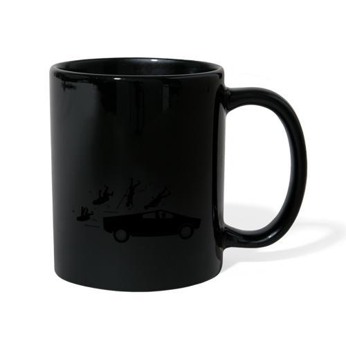 Evolution accident tesla Cybertruck par Elon Musk - Mug uni