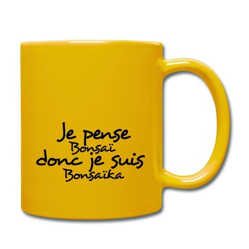 je_pense_donc_je_suis - Mug uni