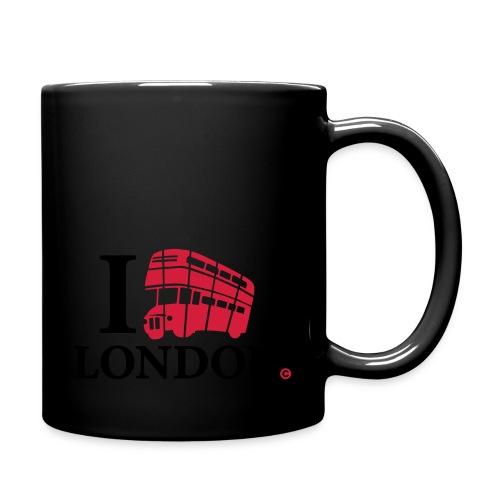 I love (Double-decker bus) London - Full Colour Mug