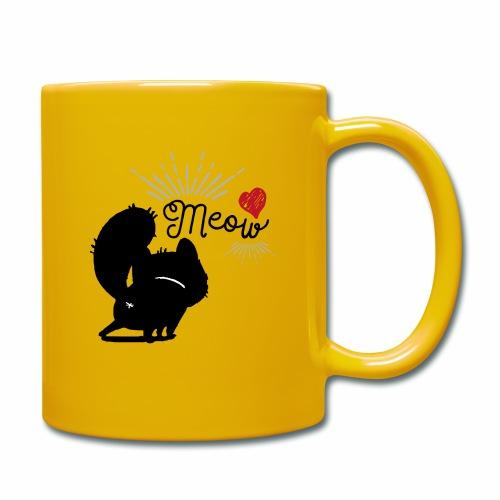 gatto meow - Tazza monocolore