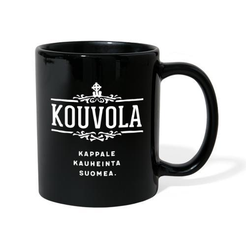 Kouvola - Kappale kauheinta Suomea. - Yksivärinen muki