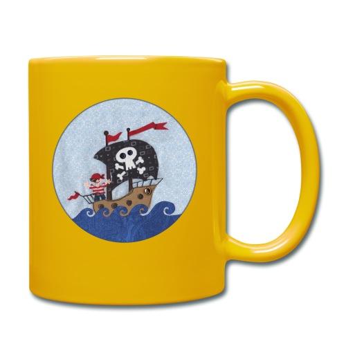 Piratenschiff - Tasse einfarbig