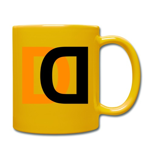 Dutch Driveclub logo oranje zwart transparante ach - Mok uni