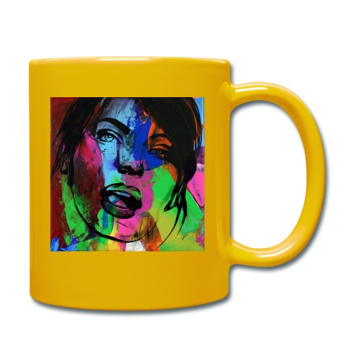 Girl face1 - Mug uni