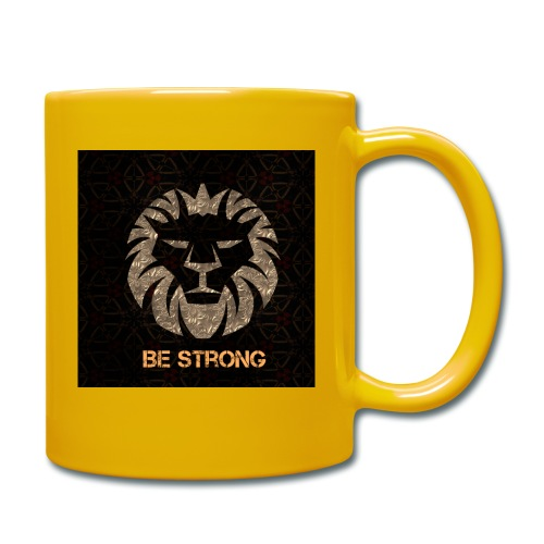 BE STRONG - Tasse einfarbig