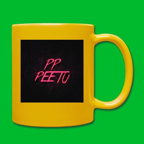 Ppppeetu logo - Yksivärinen muki