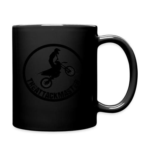 TheAttackMaster Official Black - Ensfarvet krus