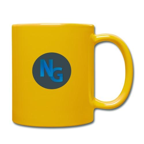NG Logo - Ensfarvet krus