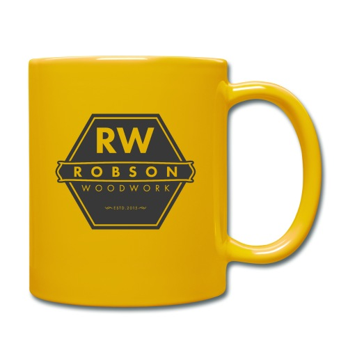 RW logo flat transparent original - Full Colour Mug