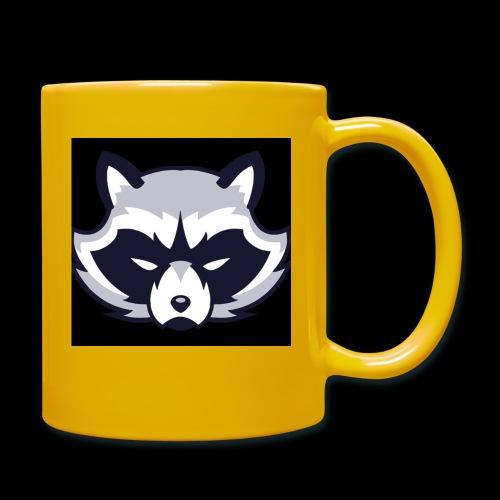 WaschbeerKopf Logo :) - Tasse einfarbig
