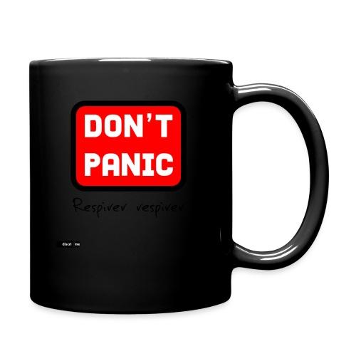 don't panic, respirer - Mug uni