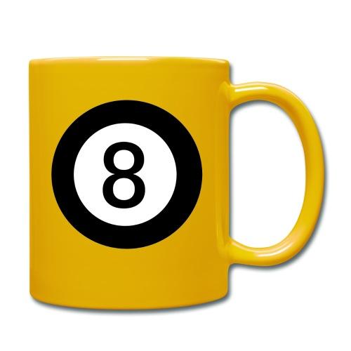 Black 8 - Full Colour Mug