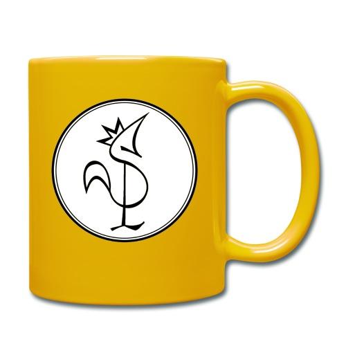Pitou Noir fond blanc - Mug uni