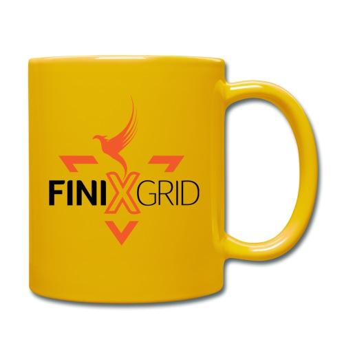 FinixGrid Orange - Full Colour Mug