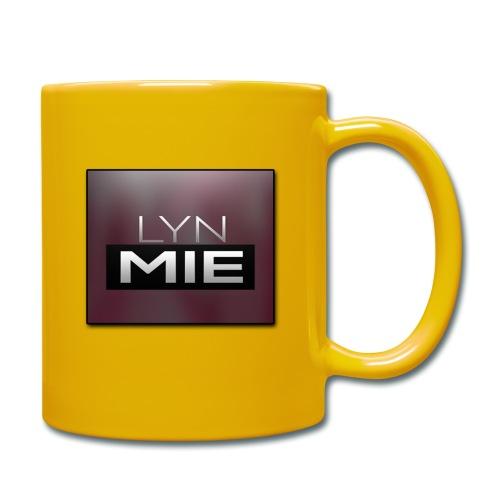 Lyn Mie Logo - Ensfarvet krus