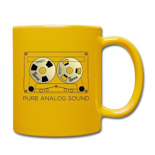 Reel gold cassette white - Full Colour Mug