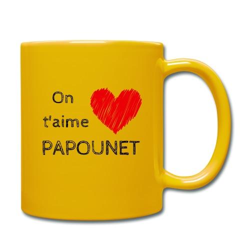 On t'aime papounet - Mug uni