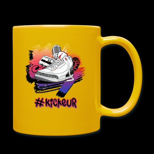 #Kickeur Noir - Mug uni