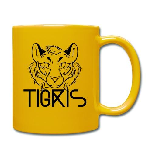 Tigris Logo Picture Text Black - Full Colour Mug