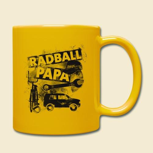Radball | Papa - Tasse einfarbig