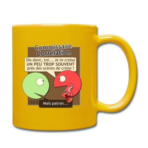 Commissaire Corrélation - Mug uni