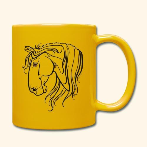 Cheval espagnol (noir) - Mug uni