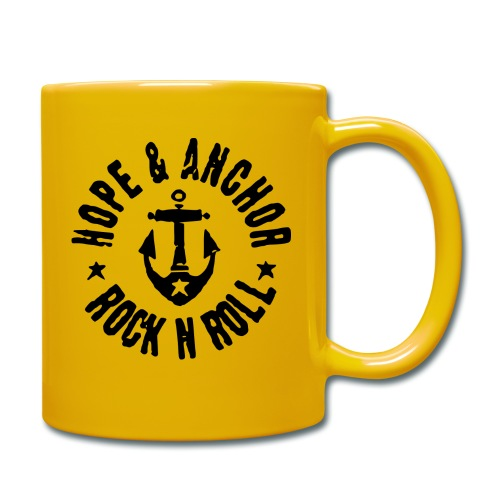 Hope & Anchor - Rock´n´Roll - Tasse einfarbig