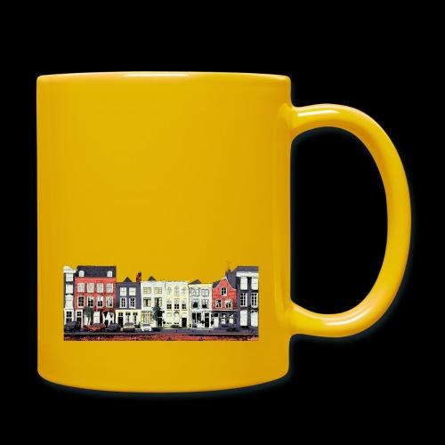 Pretty Dutch town houses - Full Colour Mug