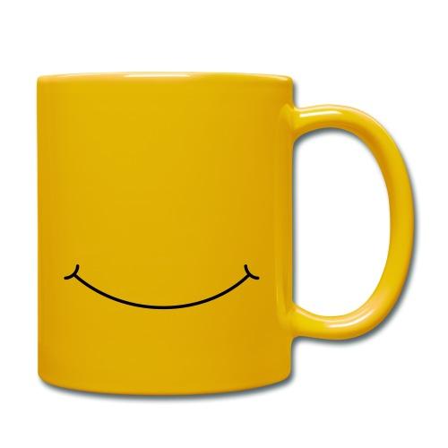 Smilie - Tasse einfarbig