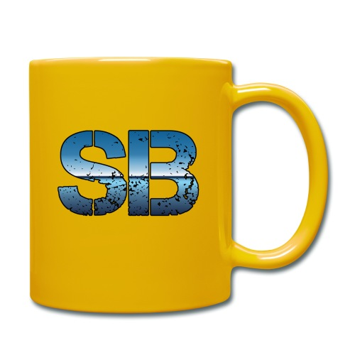 SB Logo - Ensfarvet krus